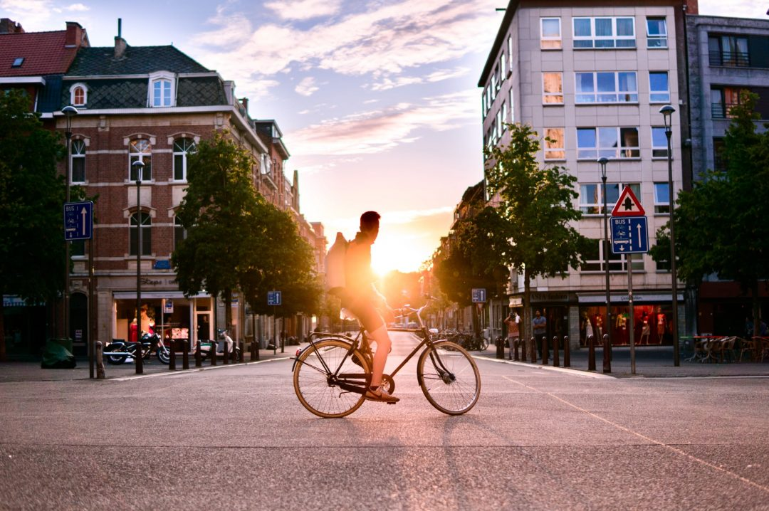 Je privilégie le vélo pour mes déplacements courts