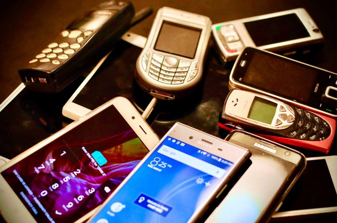 Je recycle mon ancien téléphone portable