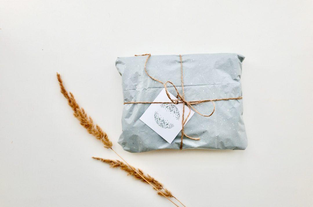 J'utilise un emballage zéro déchet pour mes cadeaux