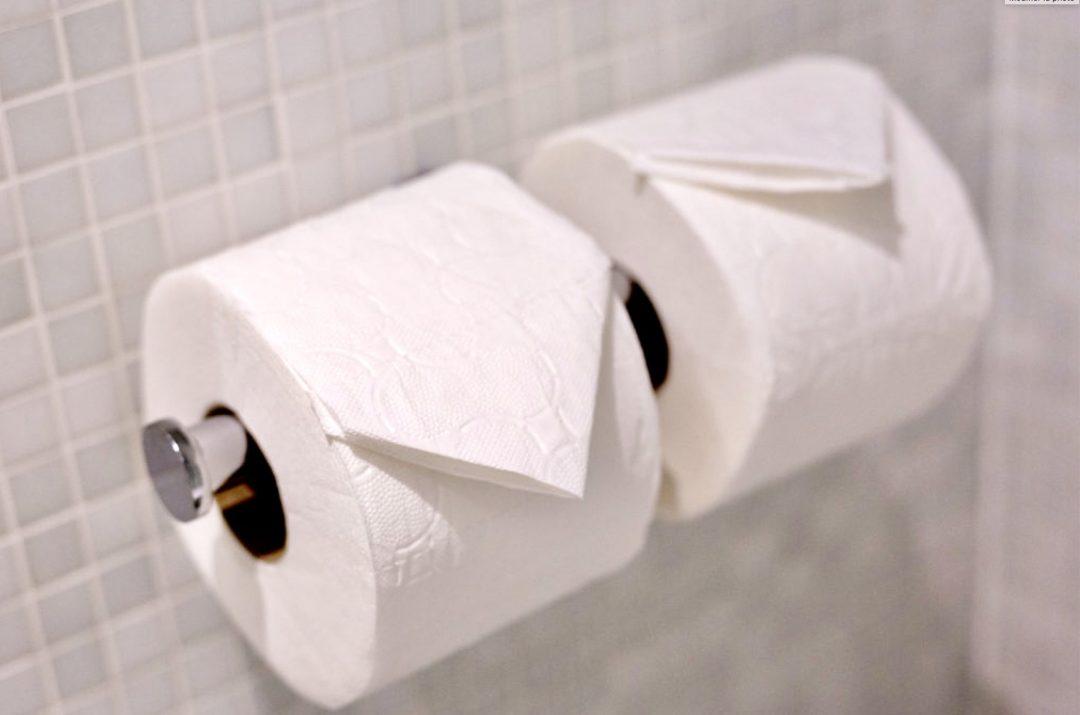 J'achète du papier toilette compact