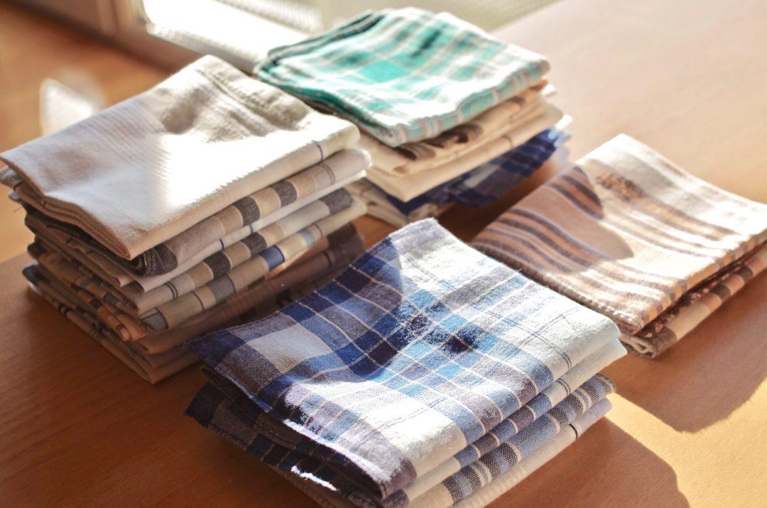 J'utilise des mouchoirs réutilisables