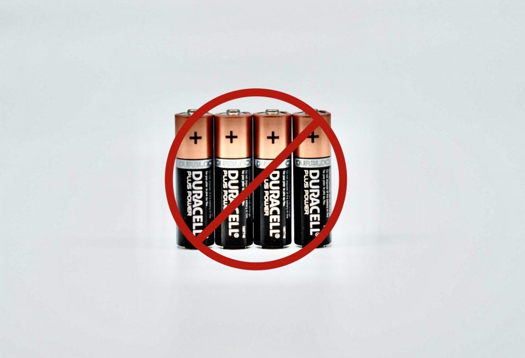 J'utilise des piles rechargeables