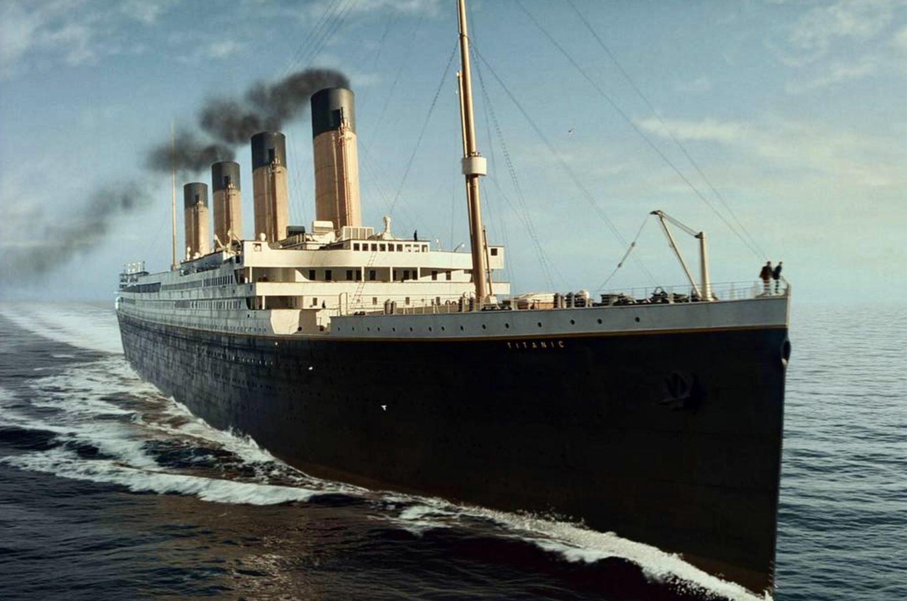 Je descends du Titanic