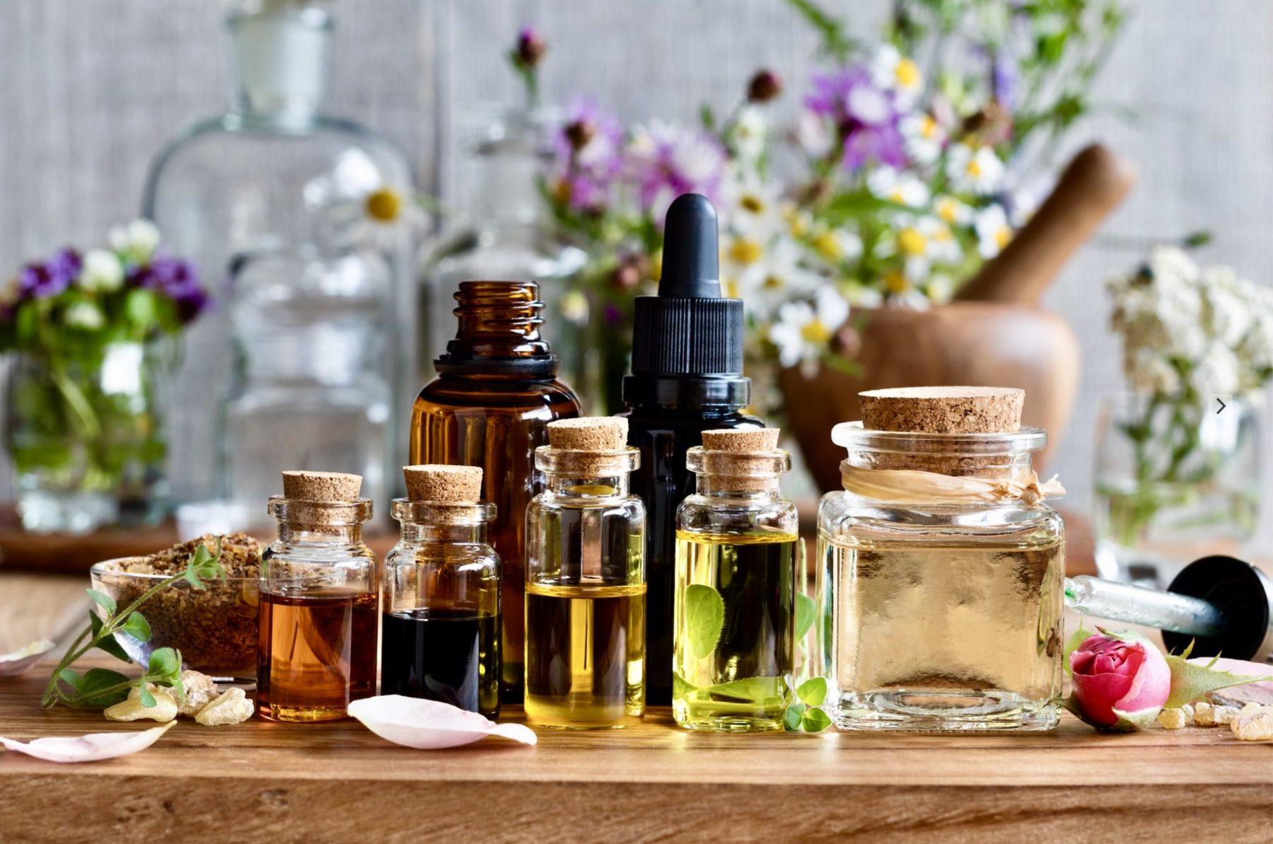 Je découvre les huiles essentielles