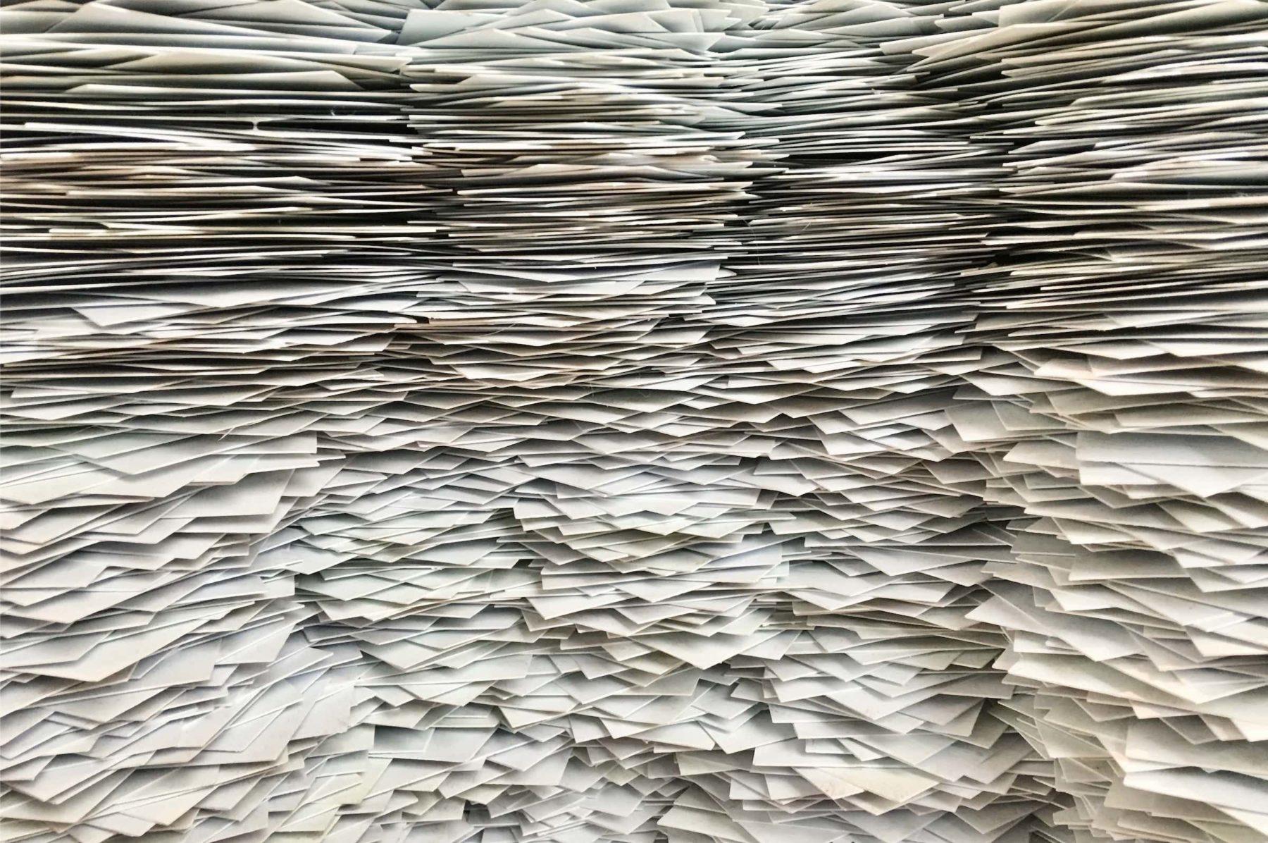 Je fais des économies de papier