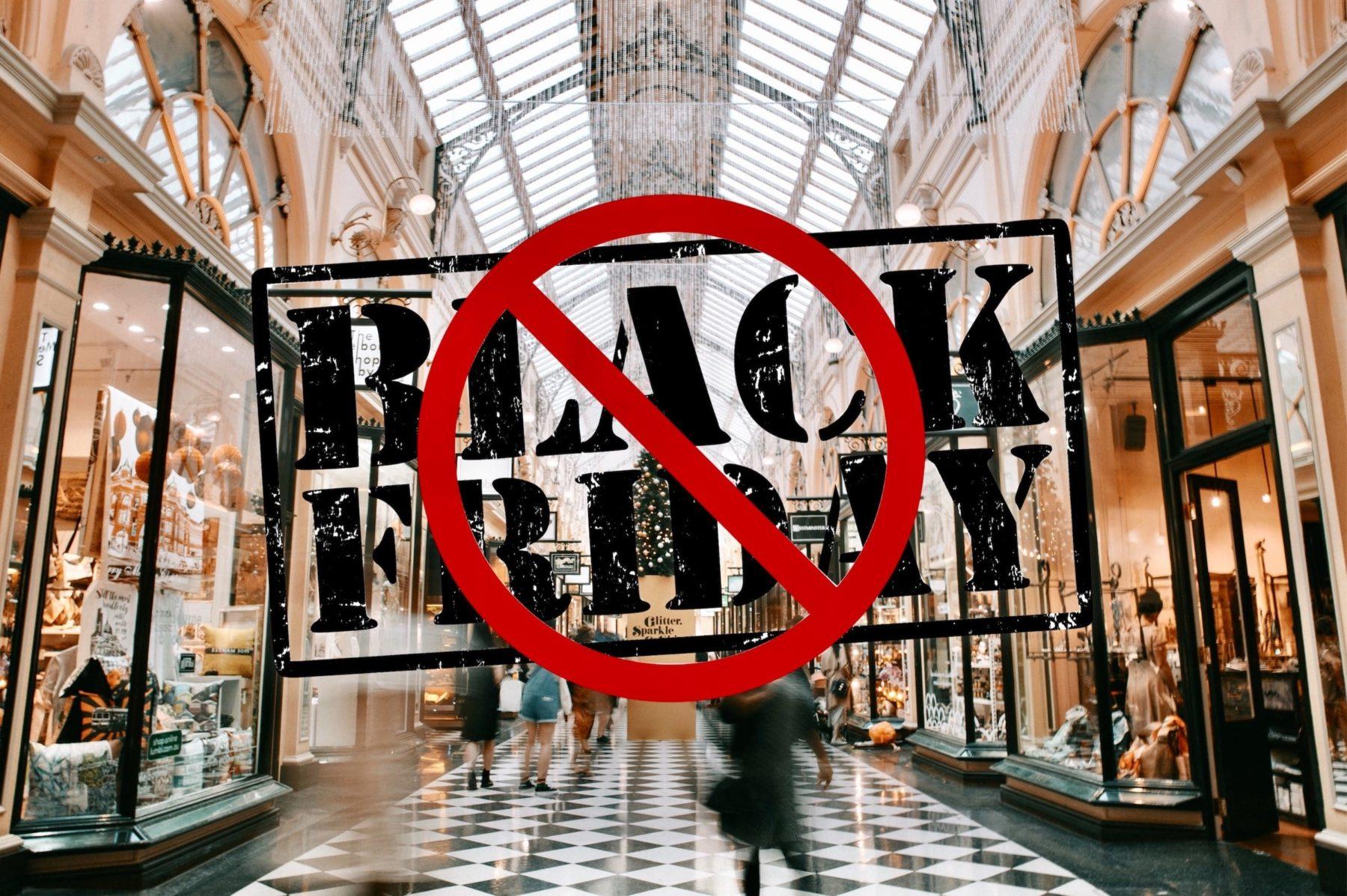 Je dis stop au Black Friday