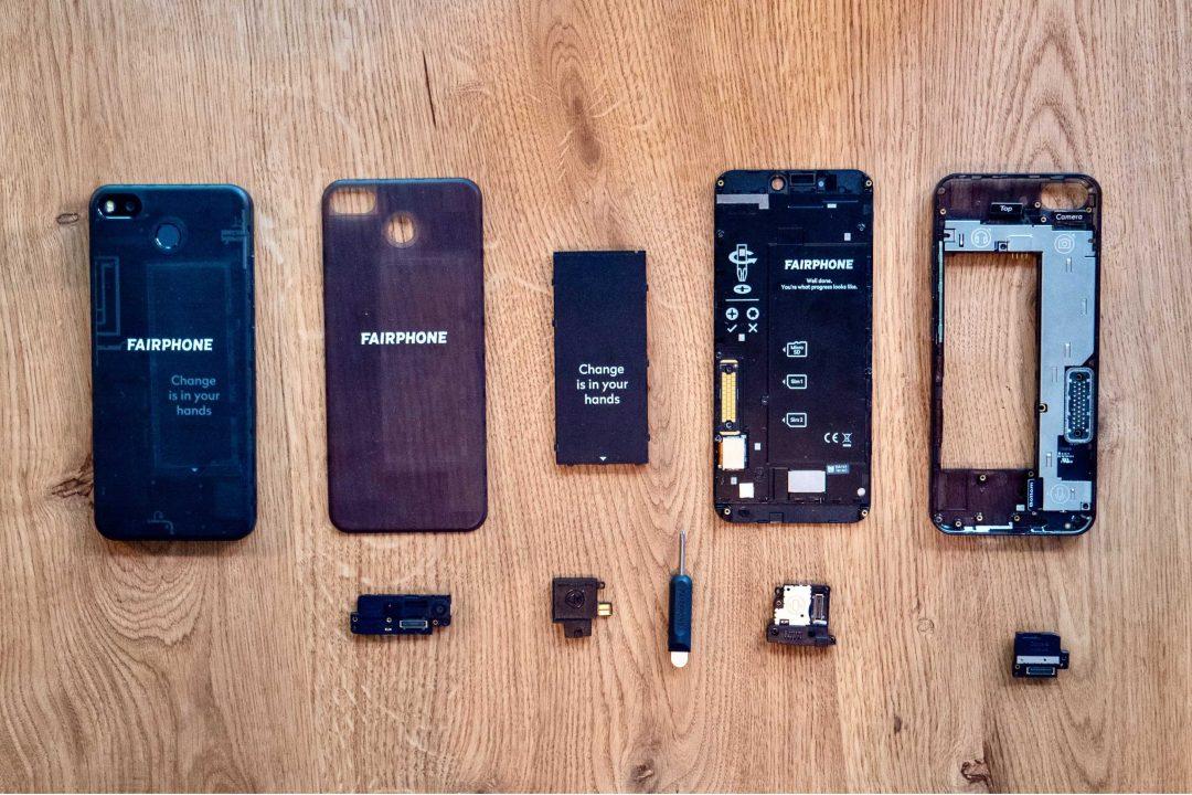 J'achète un smartphone réparable