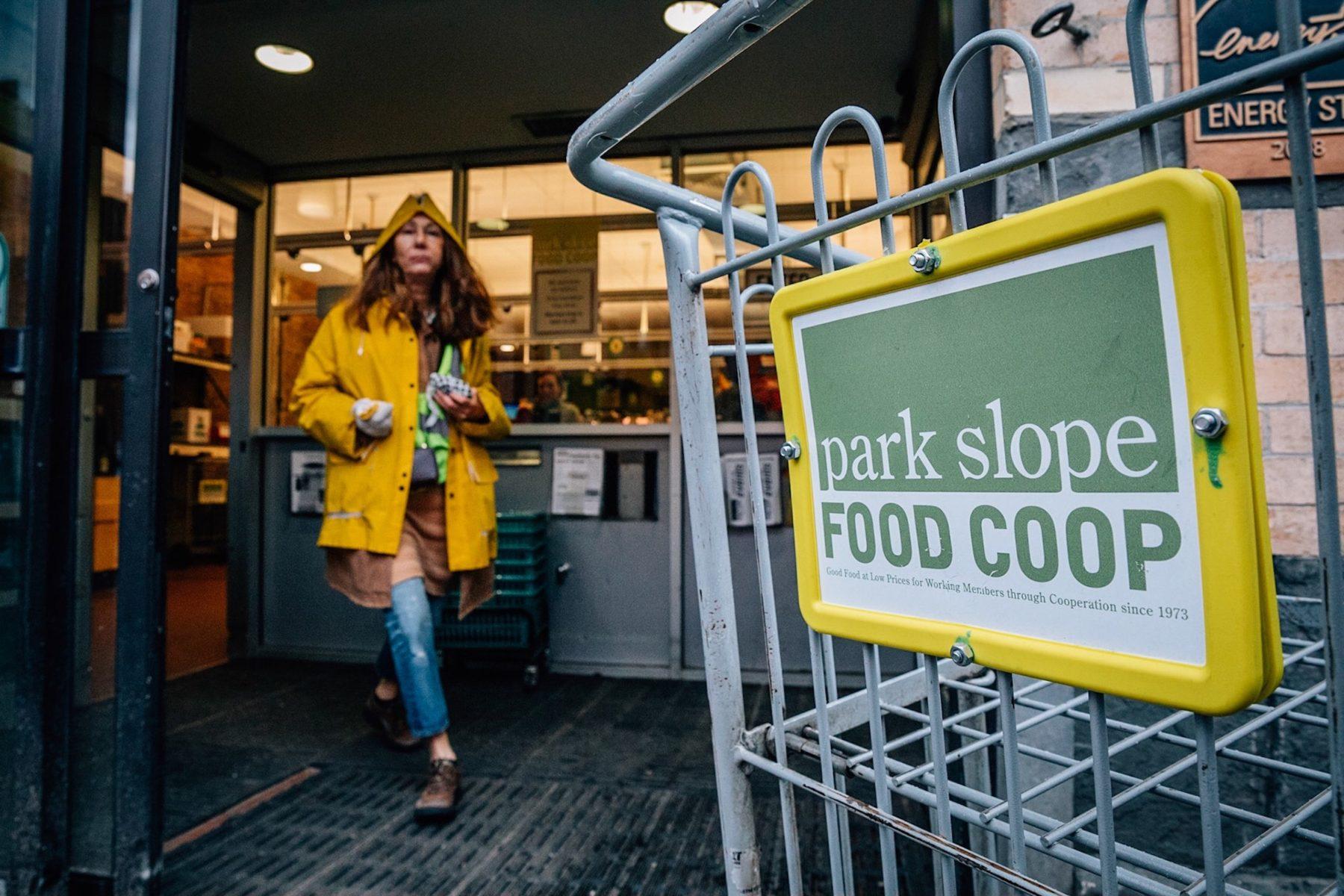"""Je regarde le documentaire """"Park Slop Food Coop"""""""