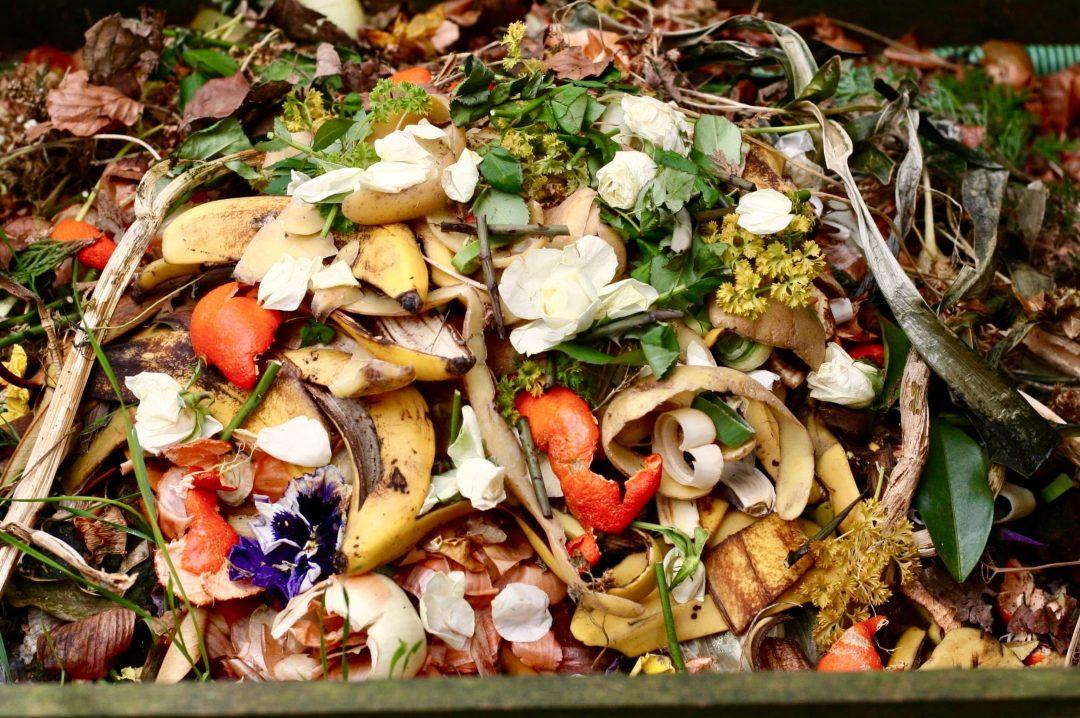 Je composte mes déchets organiques