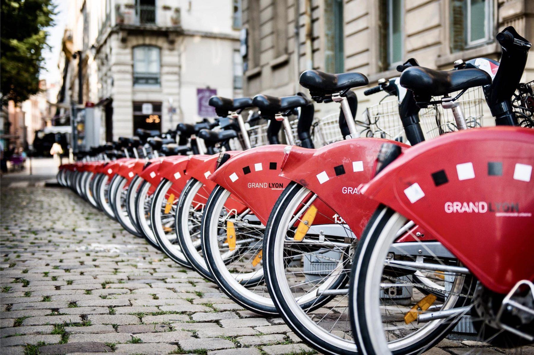 J'utilise les vélos partagés