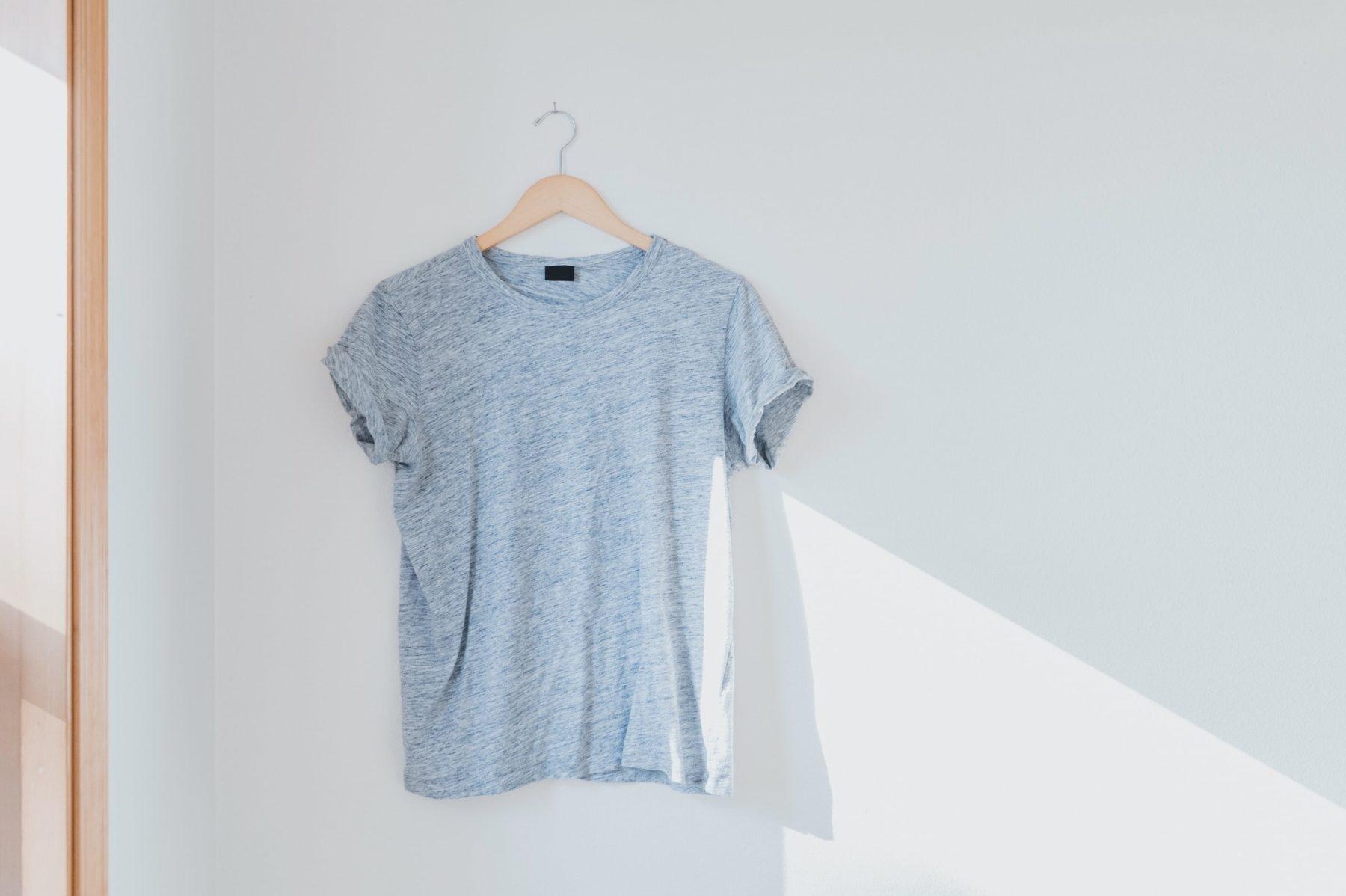 J'enfile un t-shirt durable
