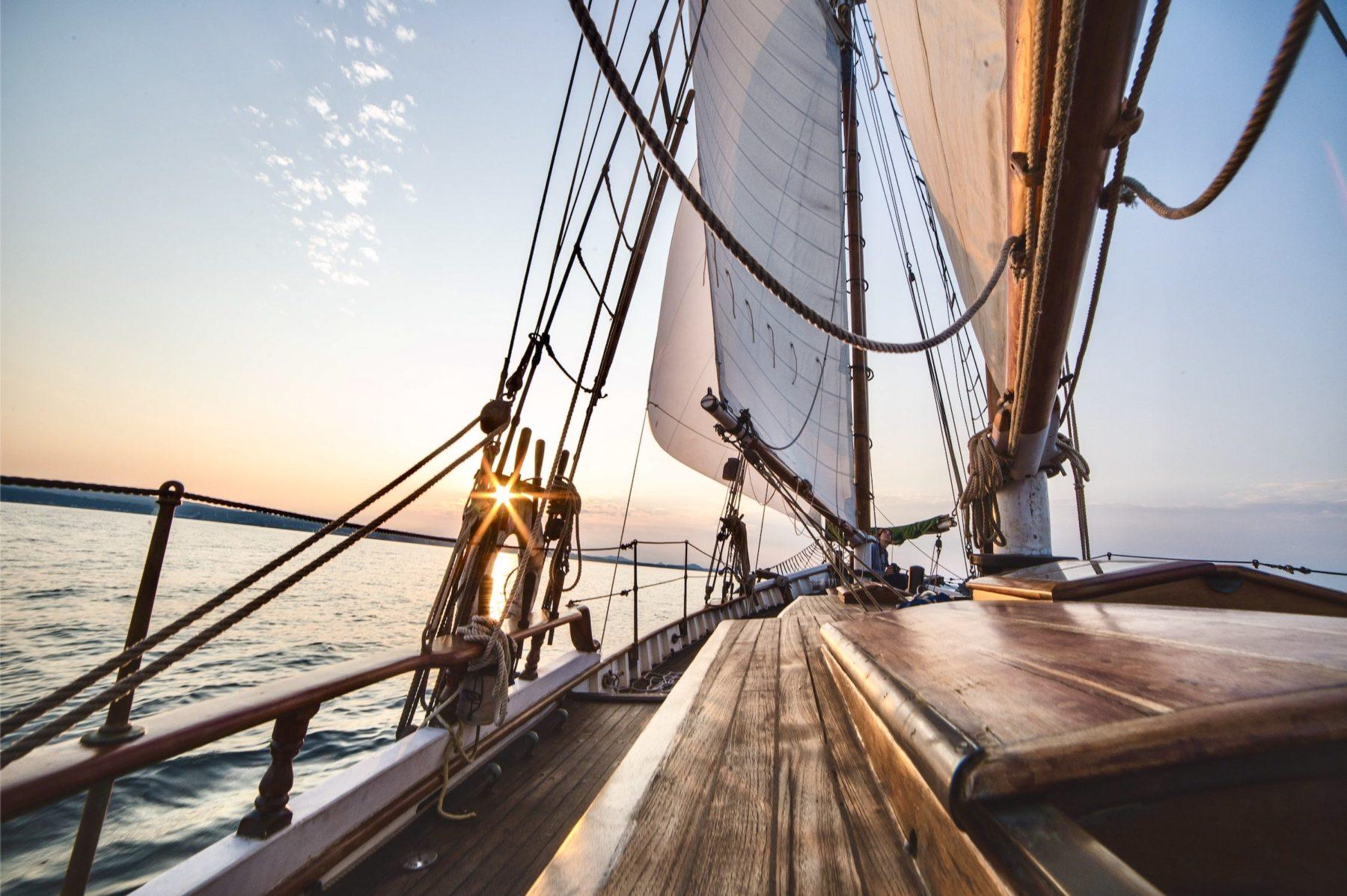 Je pars à l'aventure en voilier