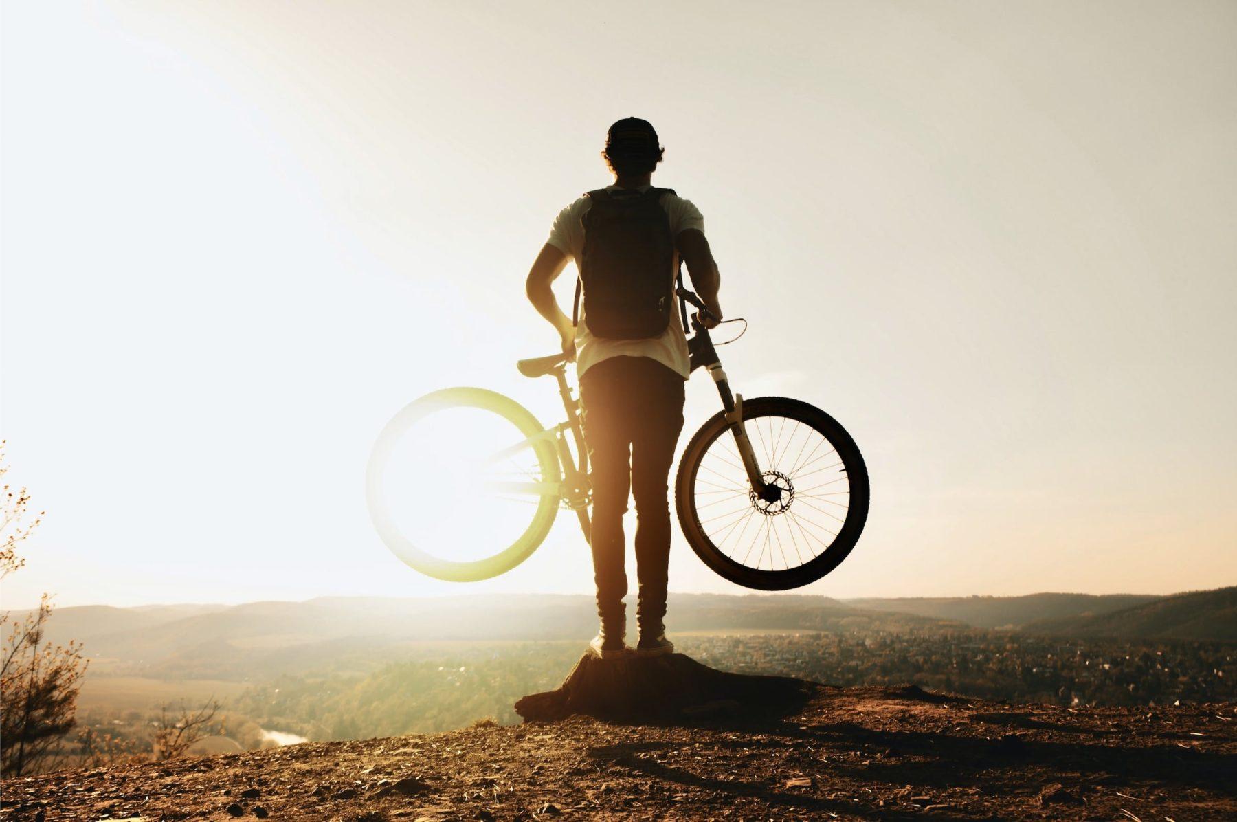 Je prends le vélo pour les vacances