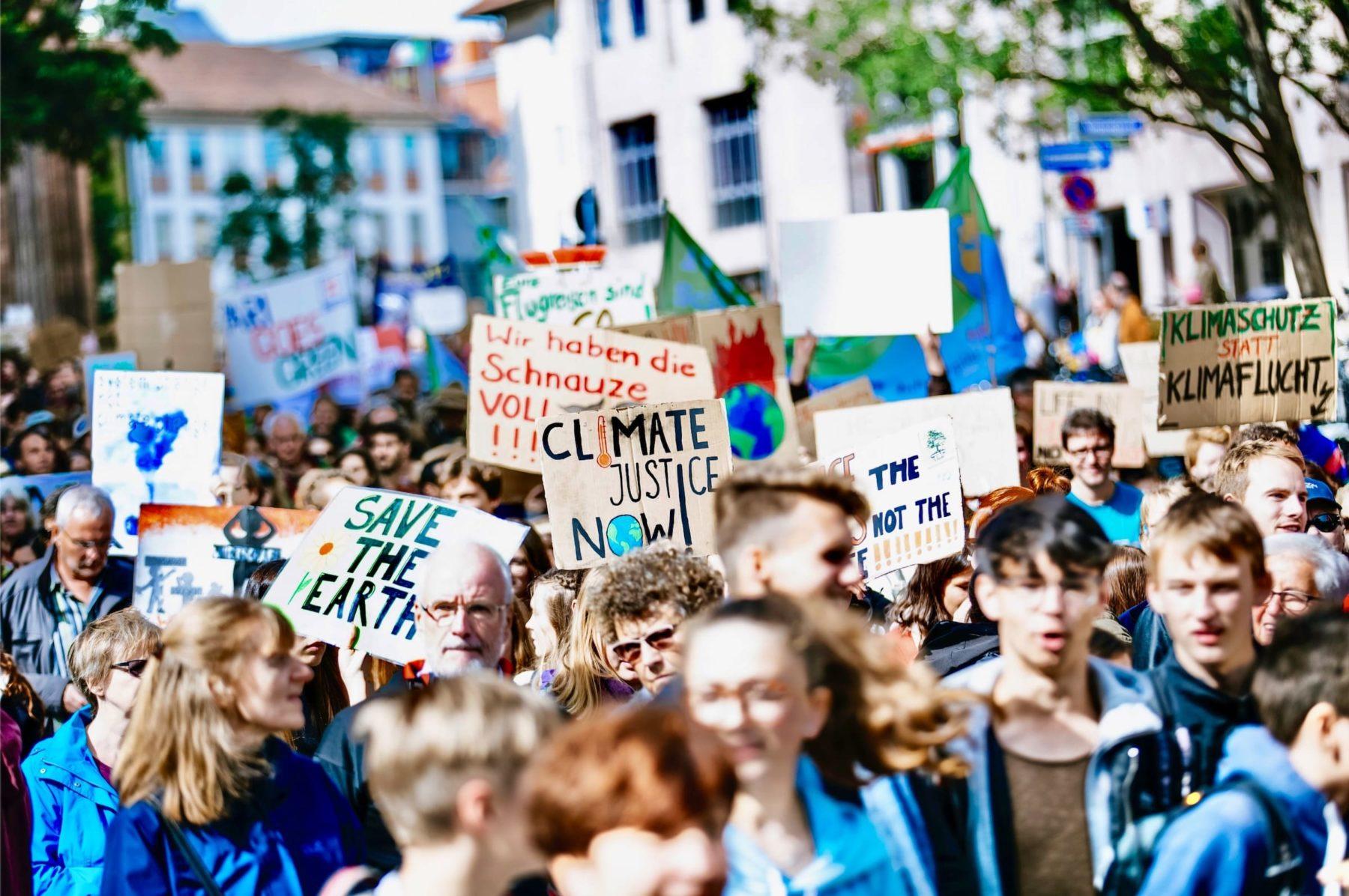 Je marche pour le climat