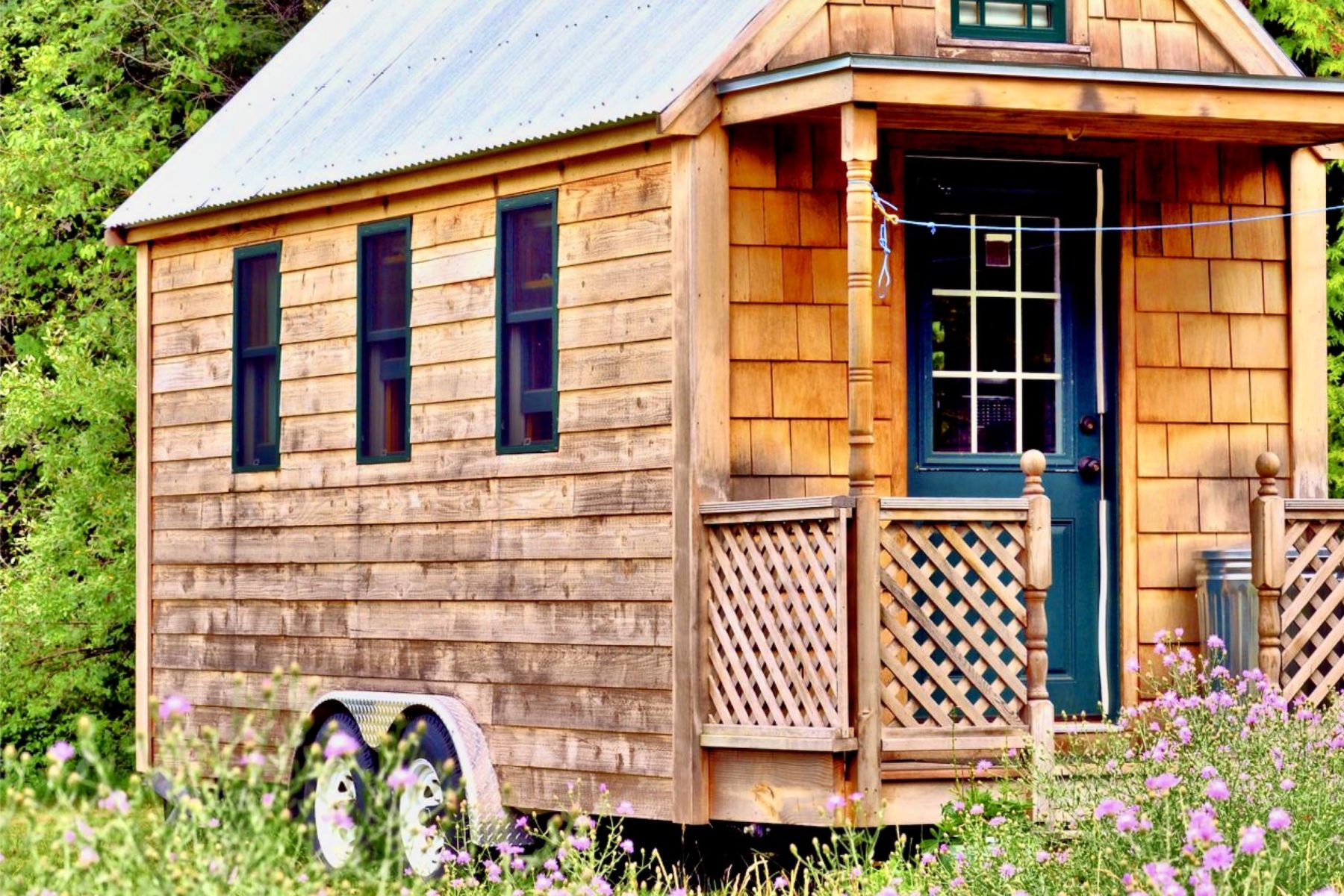 Je vis en Tiny House avec ma famille