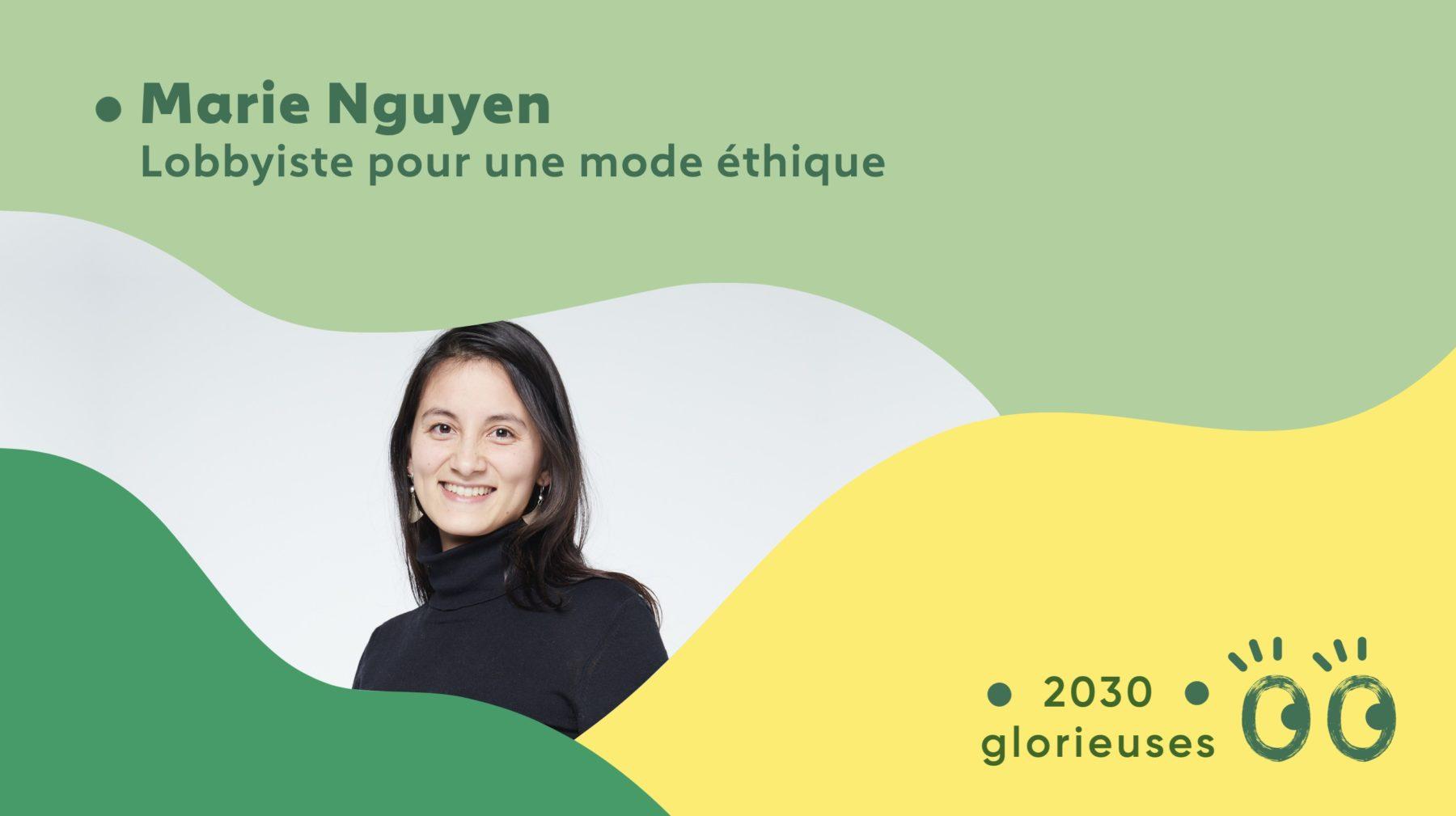 """2030 Glorieuses #20 : Marie Nguyen : """"La mode est un concentré de tout ce qui ne marche pas dans le monde"""""""