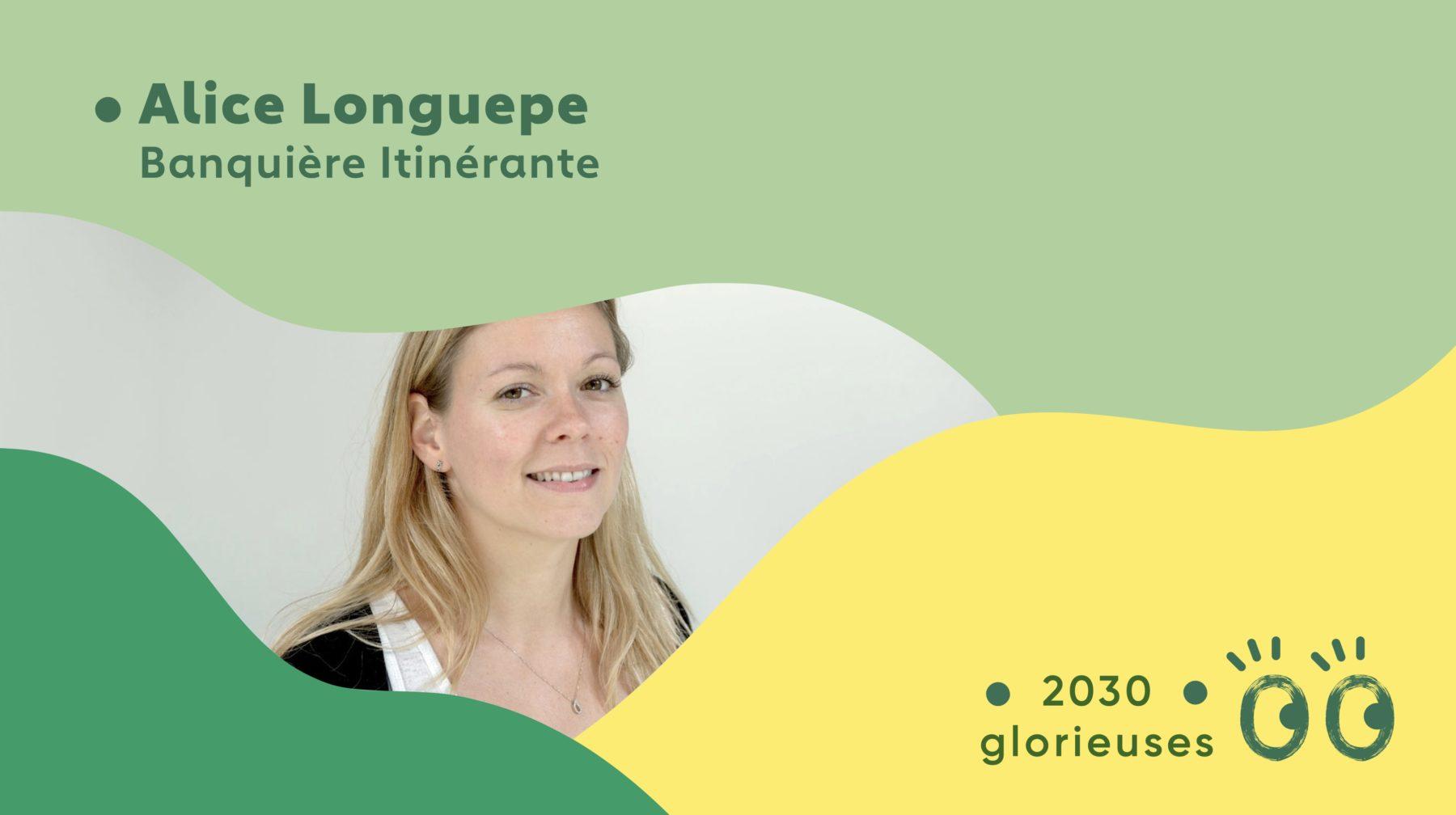 """2030 Glorieuses #29 : Alice Longuepe : """"On doit comprendre que l'argent n'est pas le moteur du monde"""""""